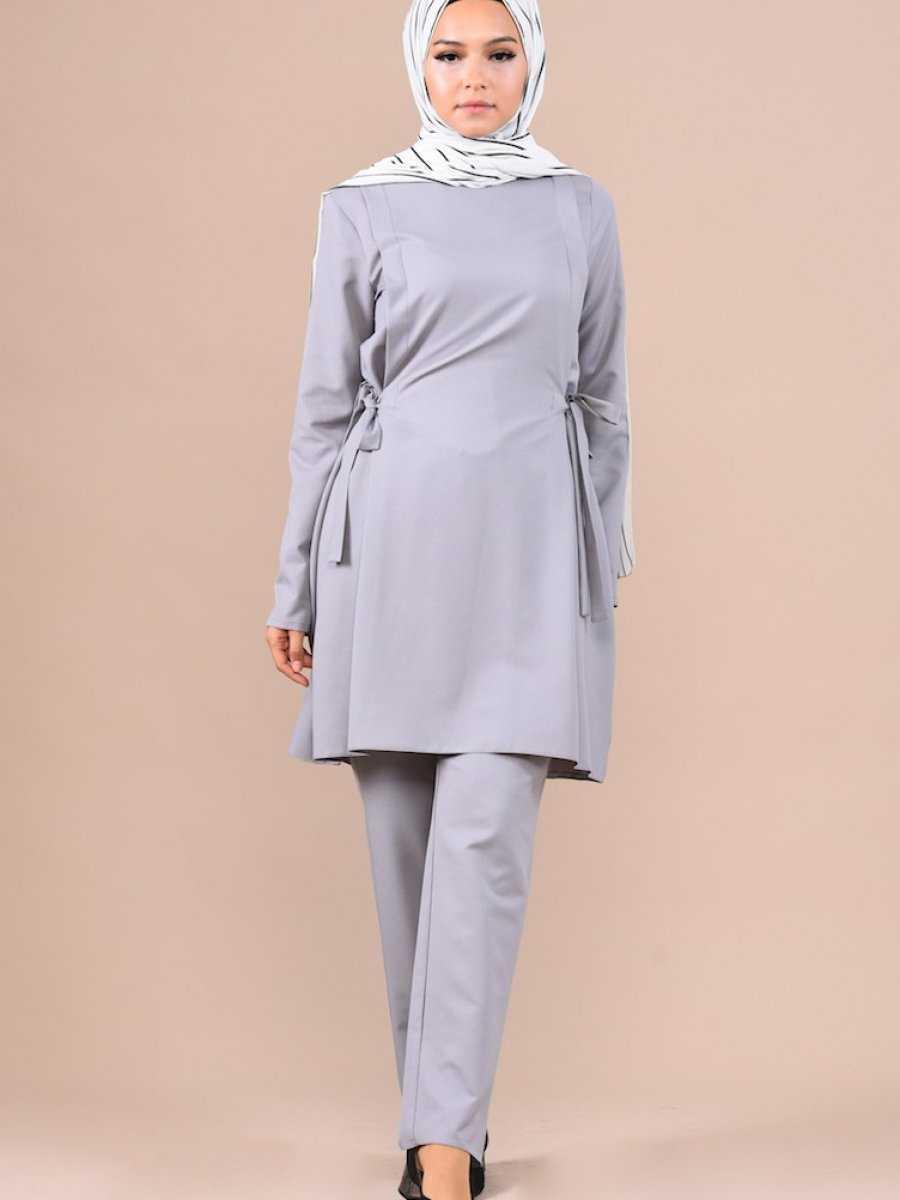 Sefamerve Yandan Bağlamalı Tunik Takım Modelleri