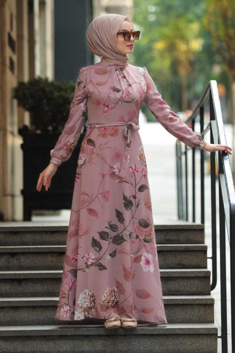 En Güzel Neva Style Desenli Elbise Modelleri