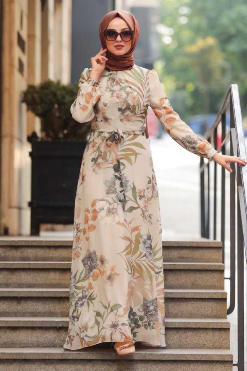 Şık Desenli Neva Style Elbise Modelleri