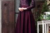 Tüylü Abiye Elbise Modelleri