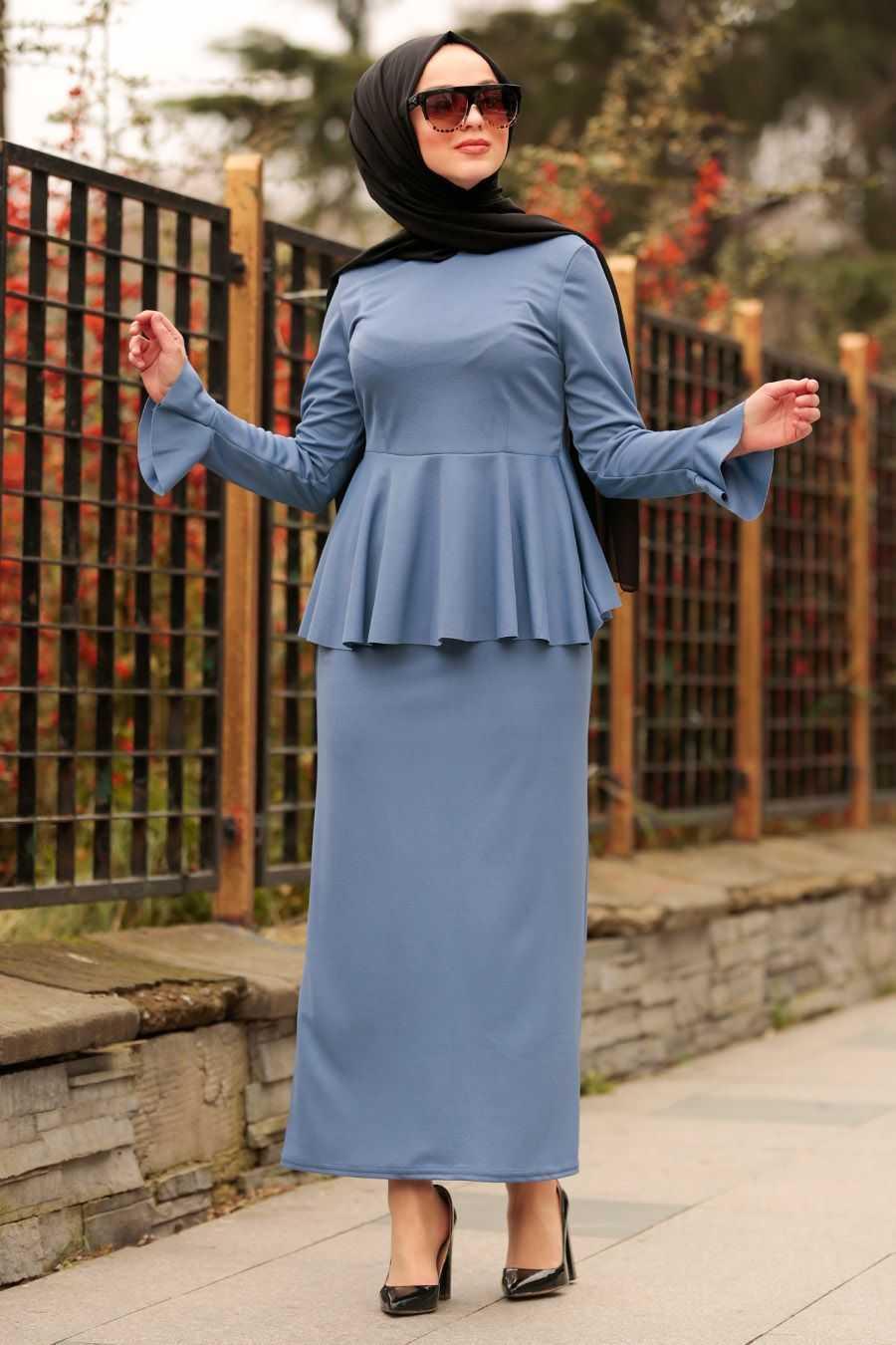 Nayla Collection Tesettür Etek Bluz Takım Modelleri