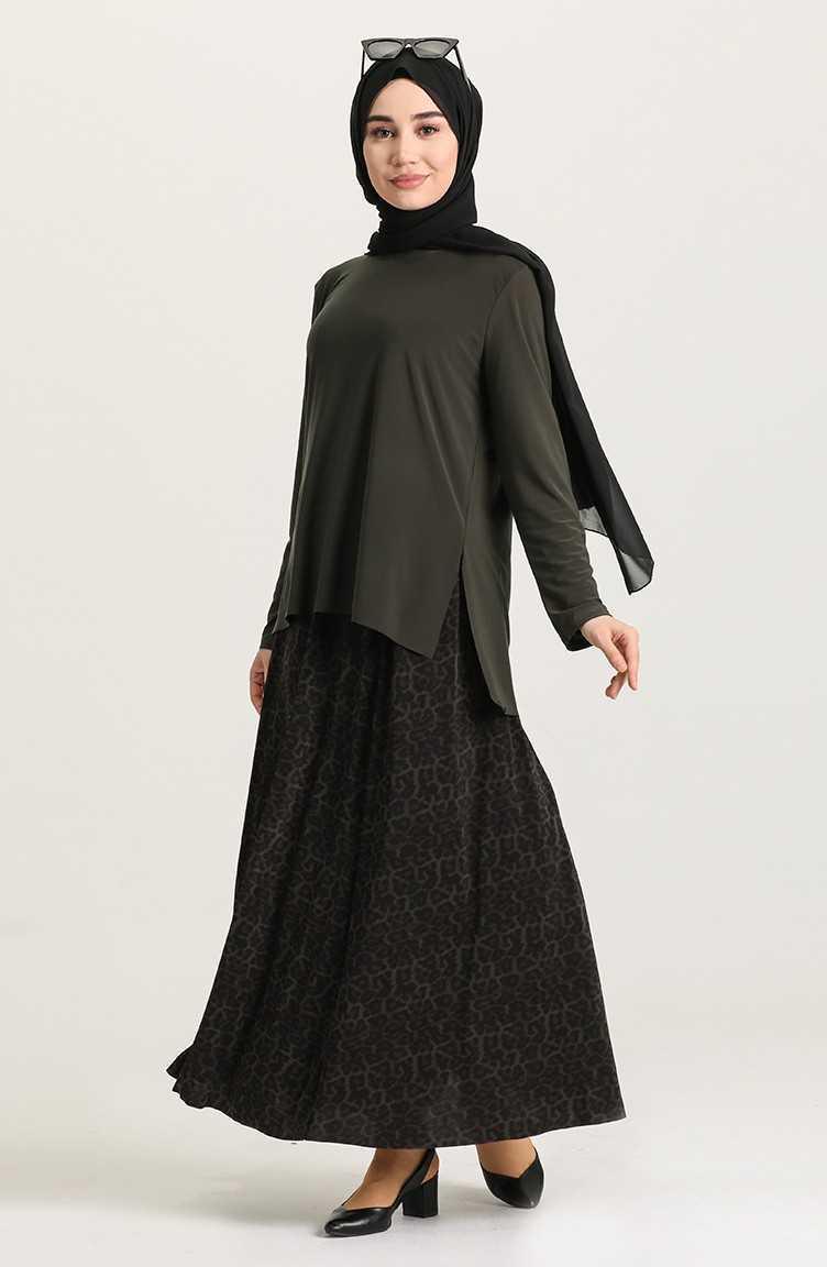 Sefamerve Tesettür Etek Bluz Takım Modelleri